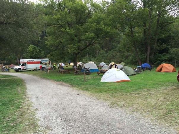 River's Edge Campground Tent Sites