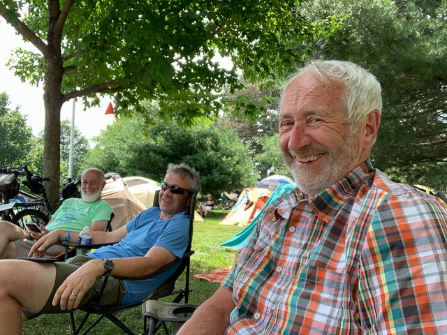 In camp in Syracuse, NY