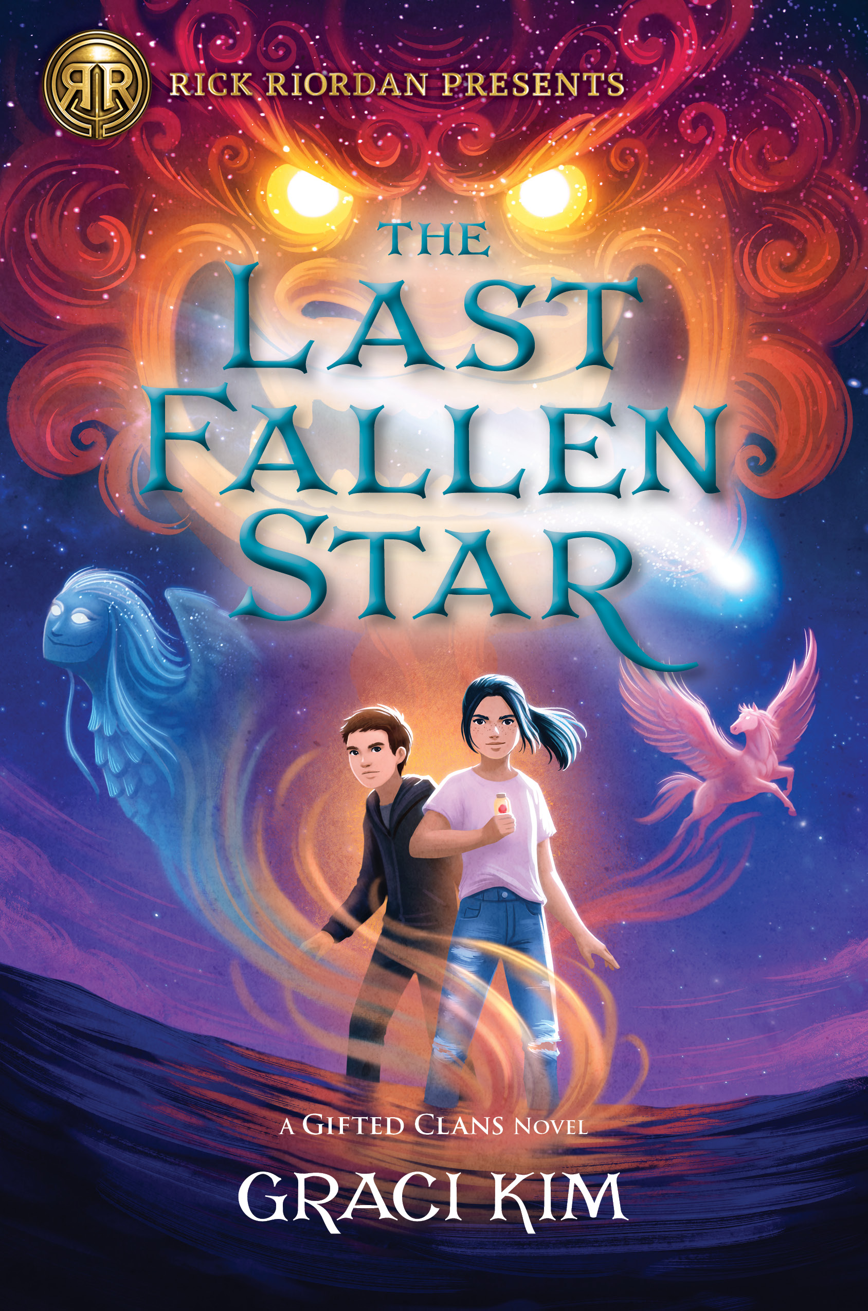 Book cover: The Last Fallen Star by Graci Kim