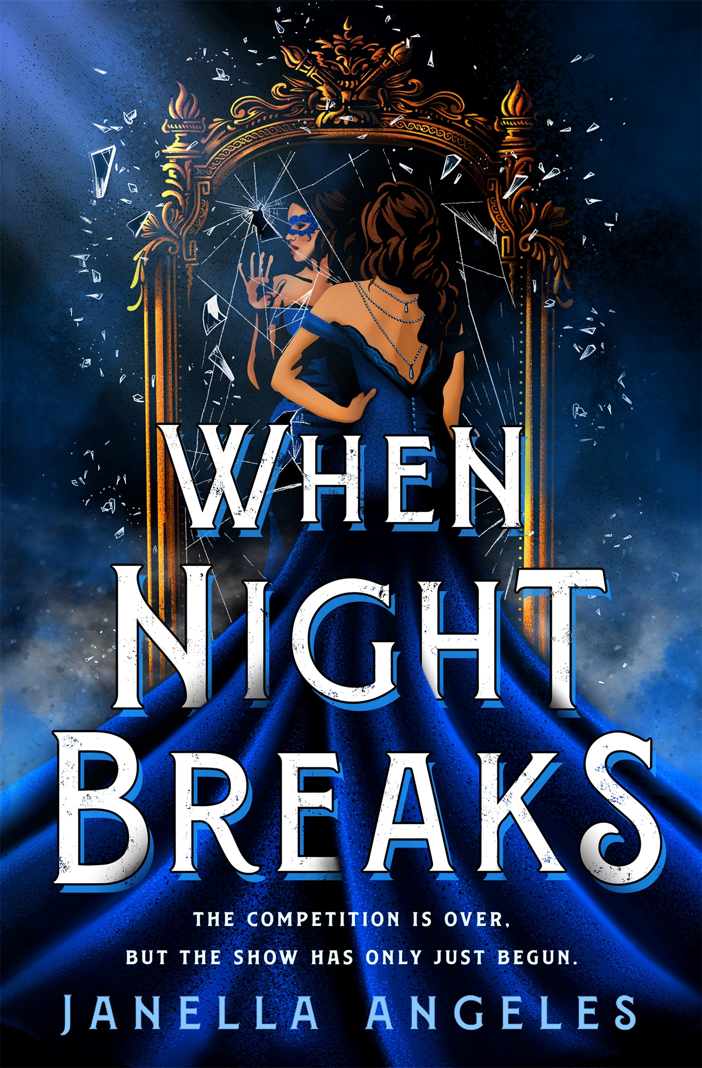 Book cover: When the Night Breaks by Janella Angeles