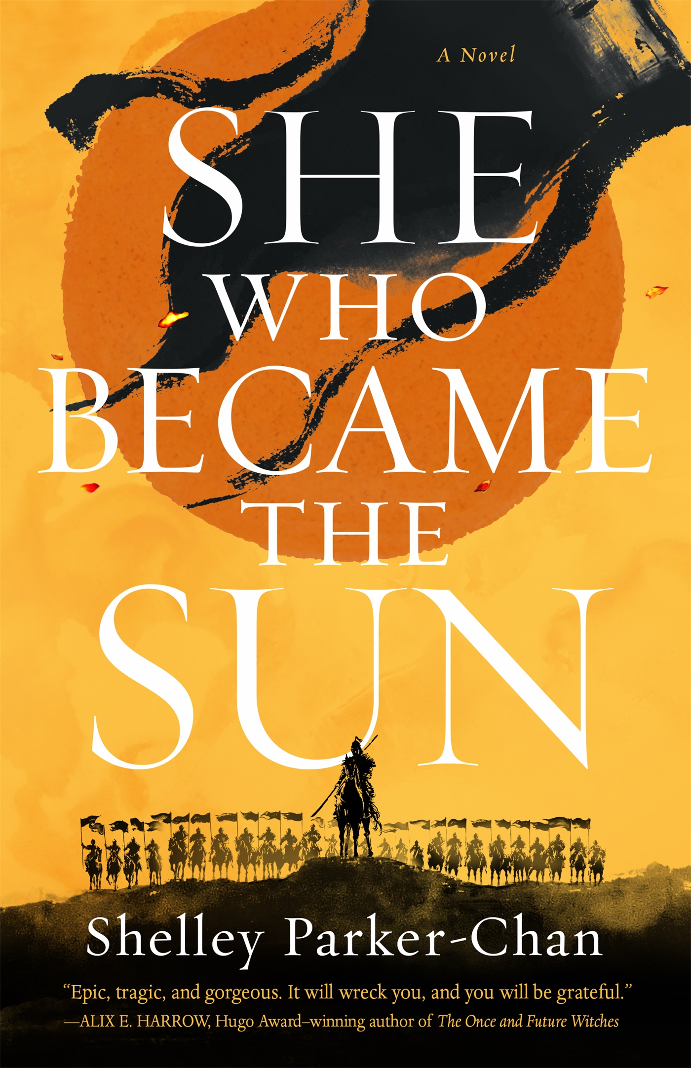 Book cover: She Who Became the Sun by Shelley Parker-Chan