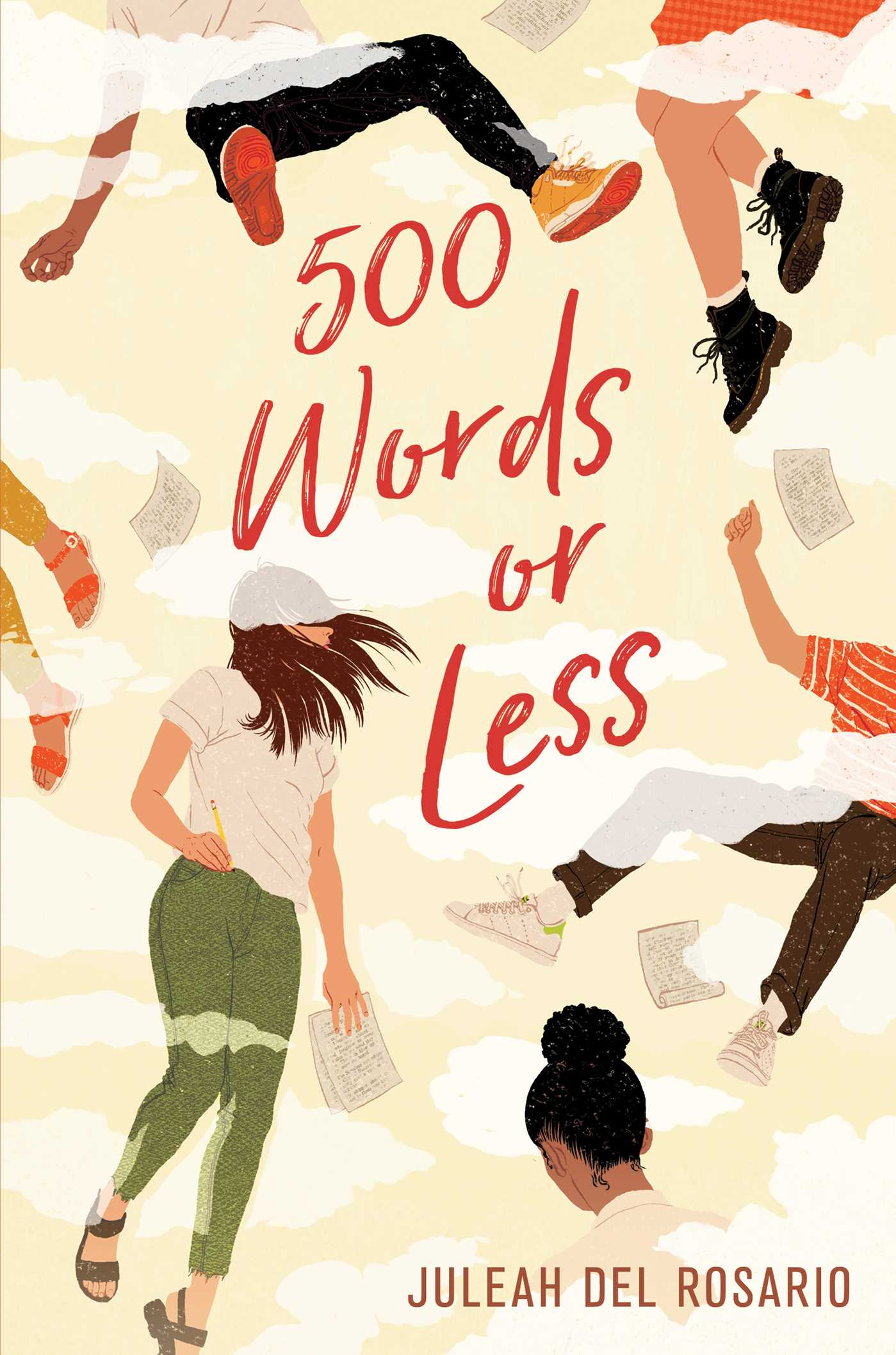 500 Words or Less by Juleah del Rosario (23 Books by Filipino Diaspora Authors For Your Shelf)
