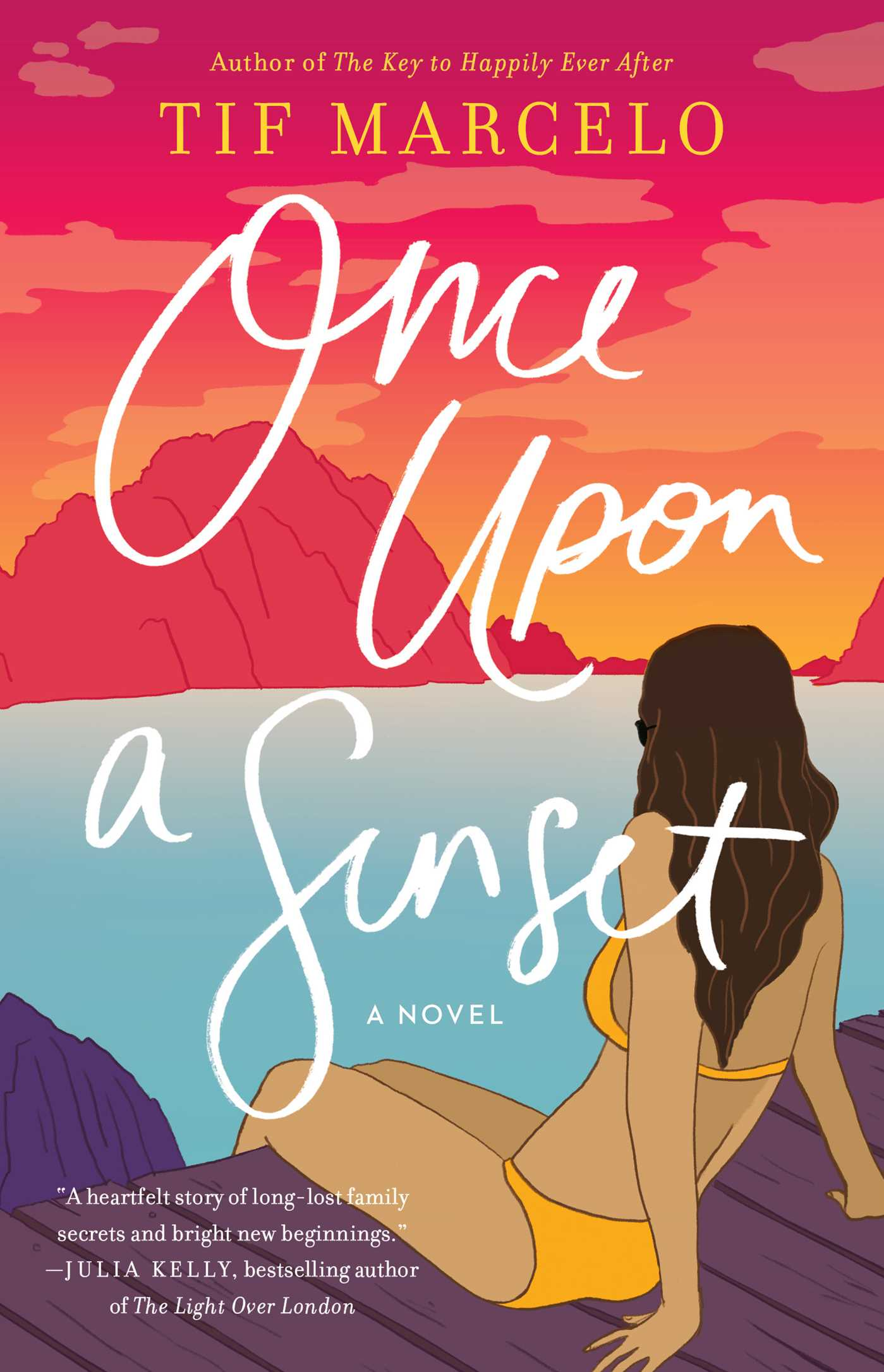 Once Upon a Sunset by Tif Marcelo (23 Books by Filipino Diaspora Authors For Your Shelf)