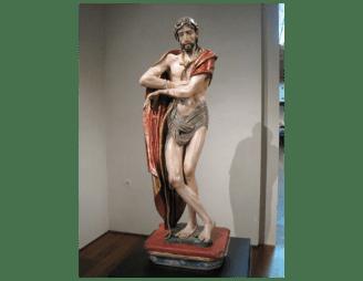 Berruguete, Ecce Homo, parroquia de San juan valladolid, conceptos manieristas aplicados a escultura.