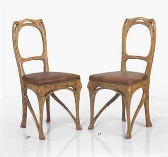 Hector Guimard, silla para el comedor de la Maison Coillet, 1898-1900.