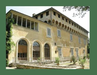 Villa médicis de Careggi, alberga capilla con busto de platón, sede de academia platónica, fundada por cosme de médicis 1459.