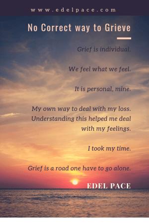 Grieve grief loss