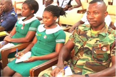 how to become a military nurse in Ghana