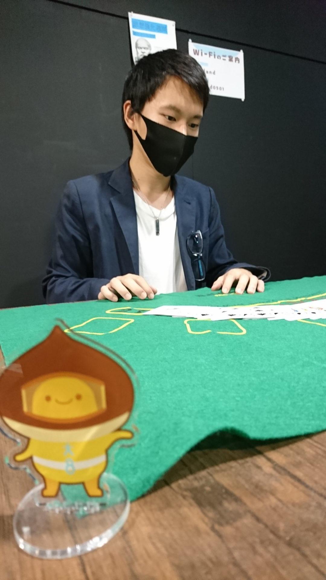 カジノゲームをする人