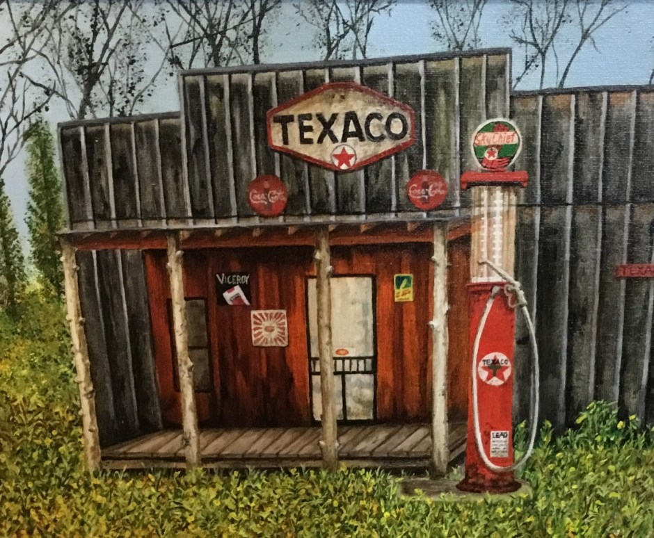 IMG 0866photo - Checkout the historical gas station collection by Artist Ron R. Stansberry