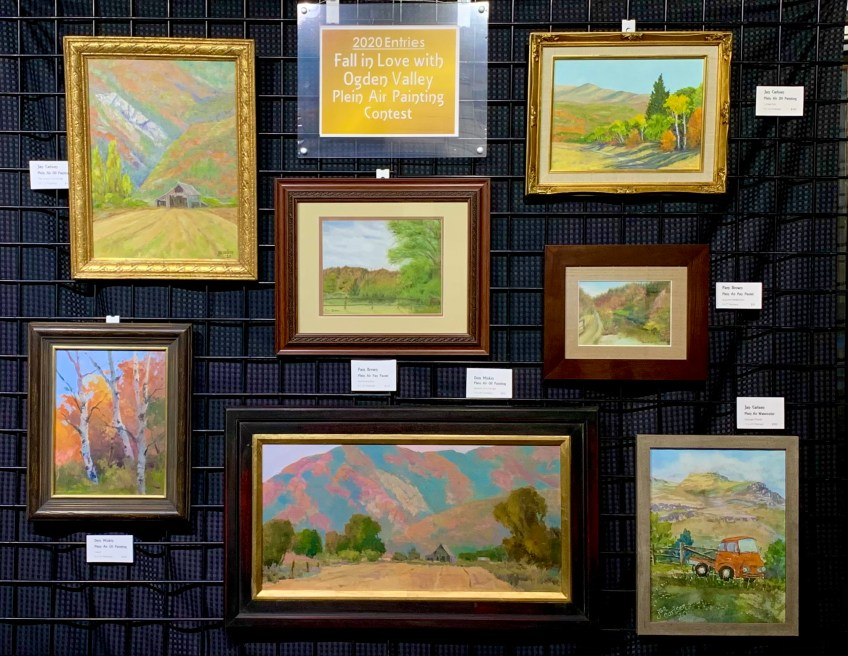 Plein Air Contest Entries Judged