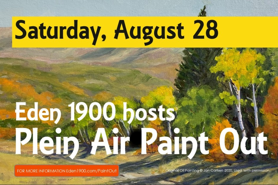 August 28 Paint Out for FB 1024x683 - 5th Plein Air Contest Paint-Out & Photography Day