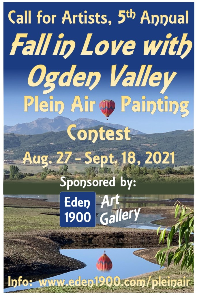 Poster2021 683x1024 - Local art gallery, Eden 1900, announces upcoming contests