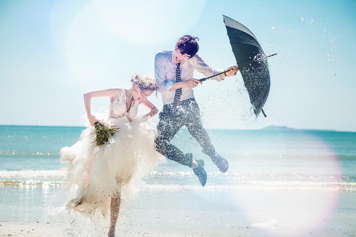 台北婚攝熊大推薦-三亞婚紗攝影工作室