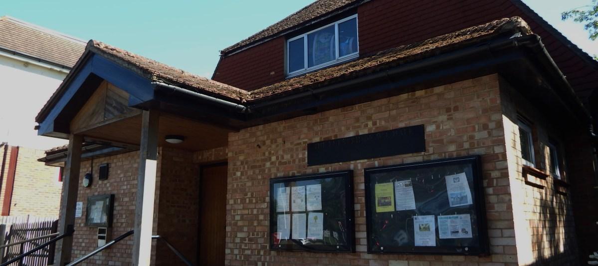 exterior of Edenbridge Village Hall
