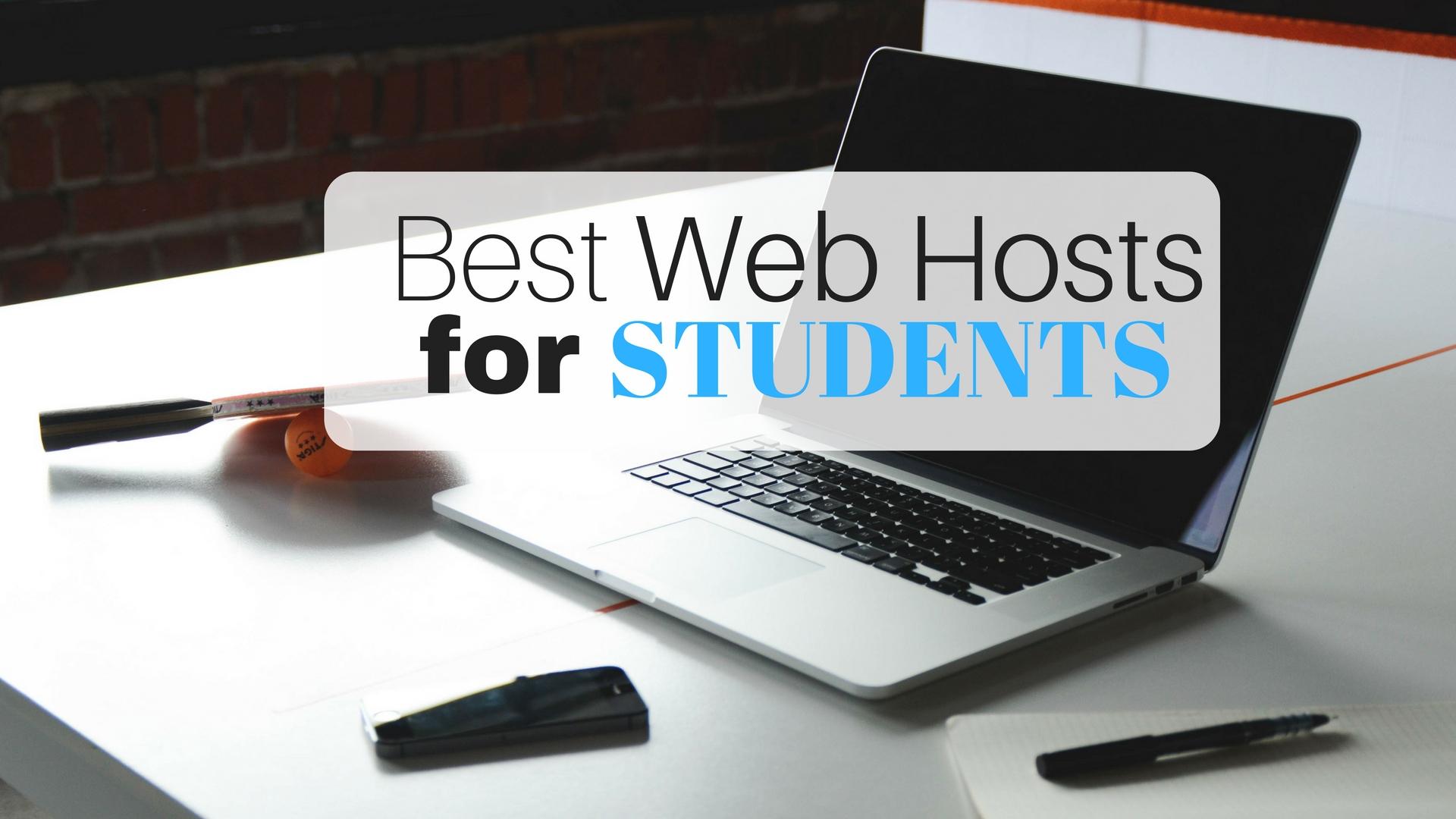 best student web hosting