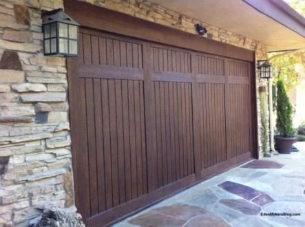 How To Make A Carriage Garage Door Look Alike Eden Makers Blog