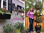 Garden designer, Shirley Bovshow transformed the deck patio of the Home & Family show on the Hallmark channel.