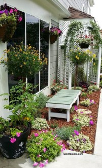 Small Narrow Garden Bed Makeover Design Ideas Eden Makers