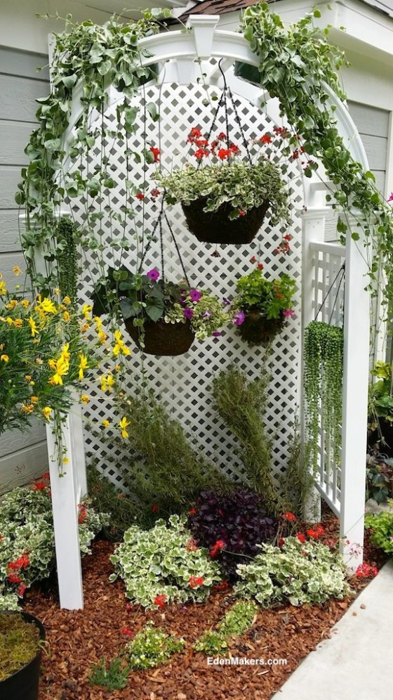 Small Narrow Garden Bed Makeover Design Ideas Eden Makers Blog