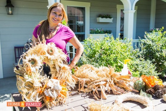 Garden-Designer-Shirley-Bovshow-Creates-Autumn-Wreath-Home-and-Family-Show-Hallmark-Channel-From-Corn-Stalks-Edenmakers