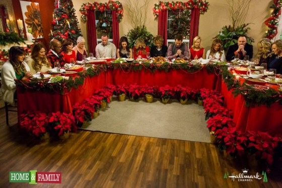 Hallmark Home and Family Christmas Holiday Special-dinnertime-blessing
