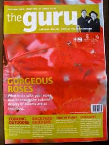 Cover of the Garden Gurus magazine from Australia