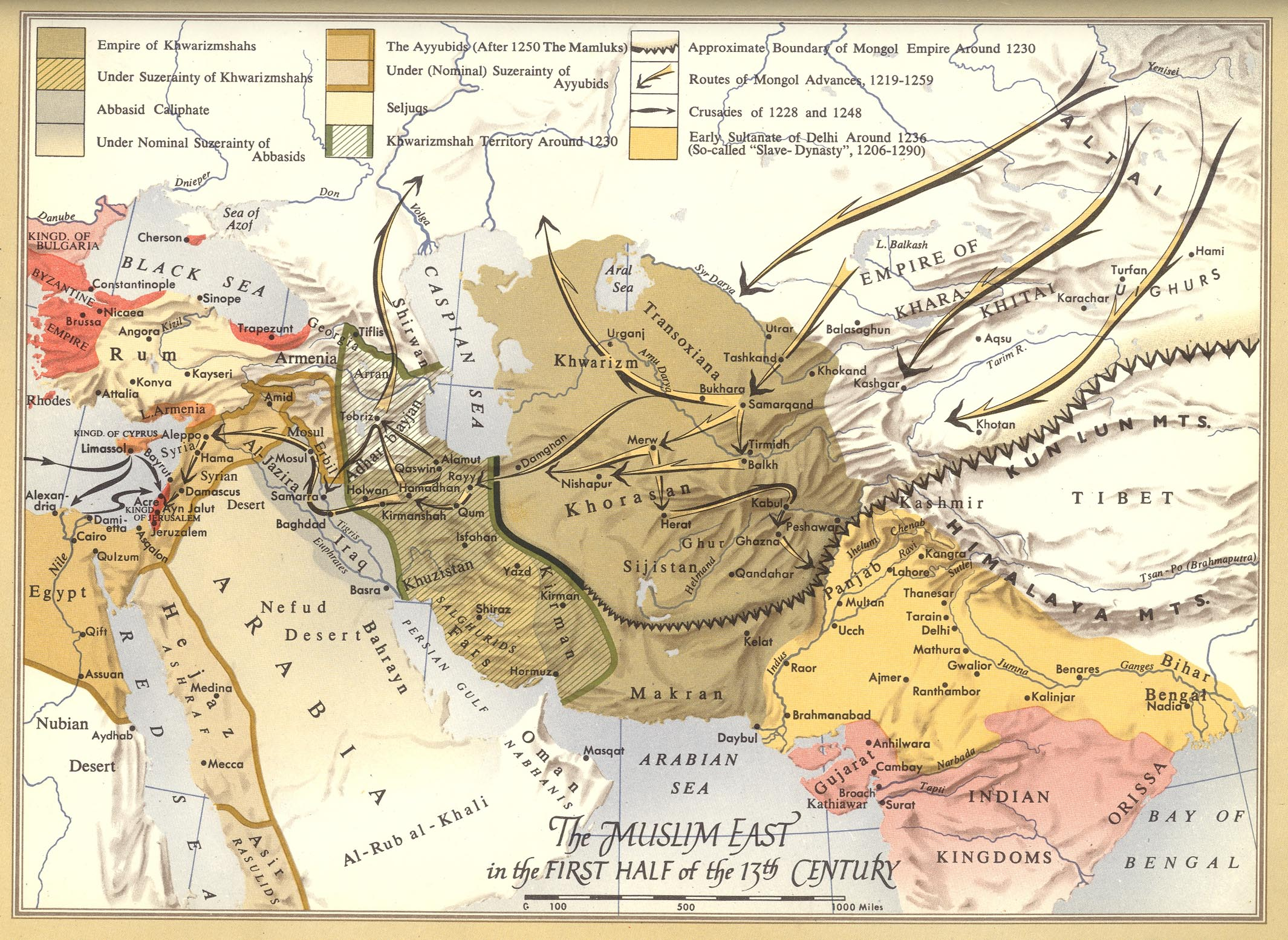 Historical Maps Of The Islamic World