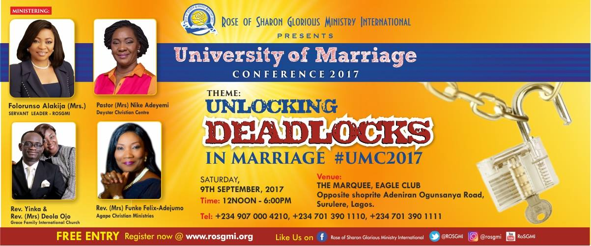 MARRIAGE CONFERENCE 2017