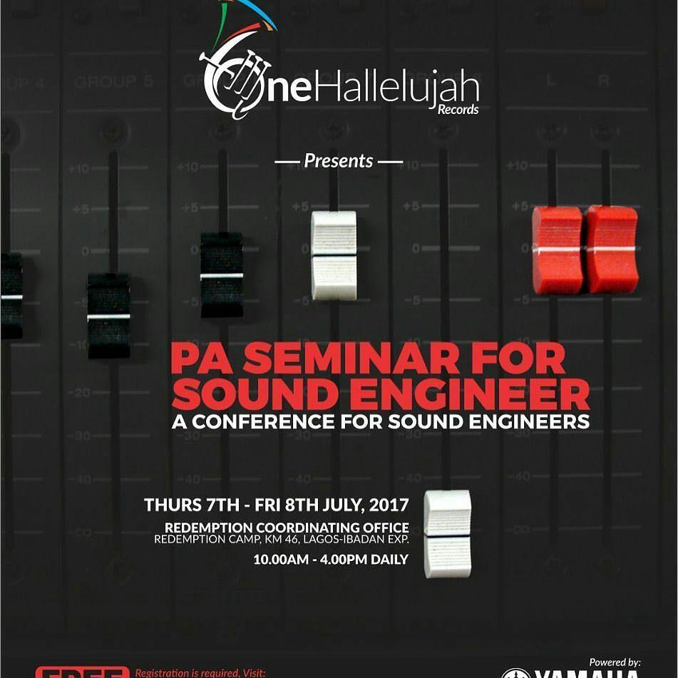 PA SEMINAR FOR SOUND ENGINEERS