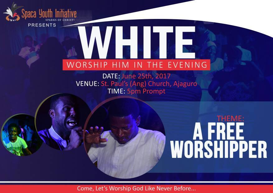 WHITE (Worship Him In The Evening)