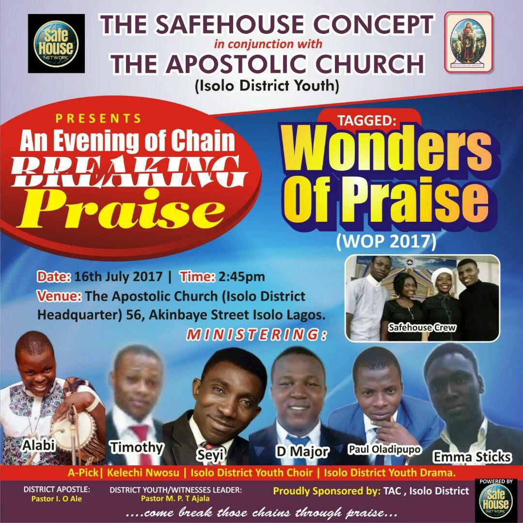 WONDERS OF PRAISE (WOP)