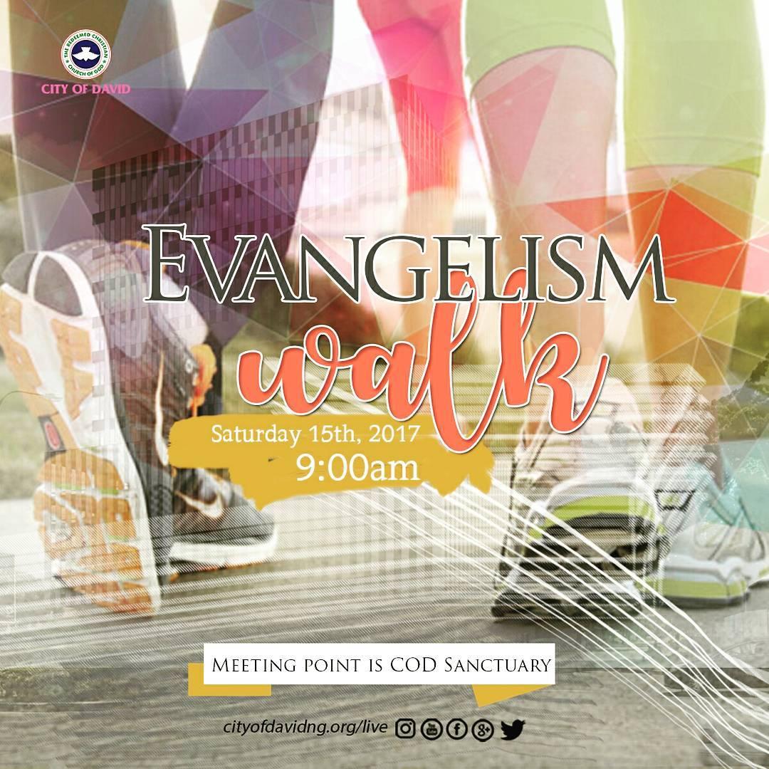 EVANGELISM WALK