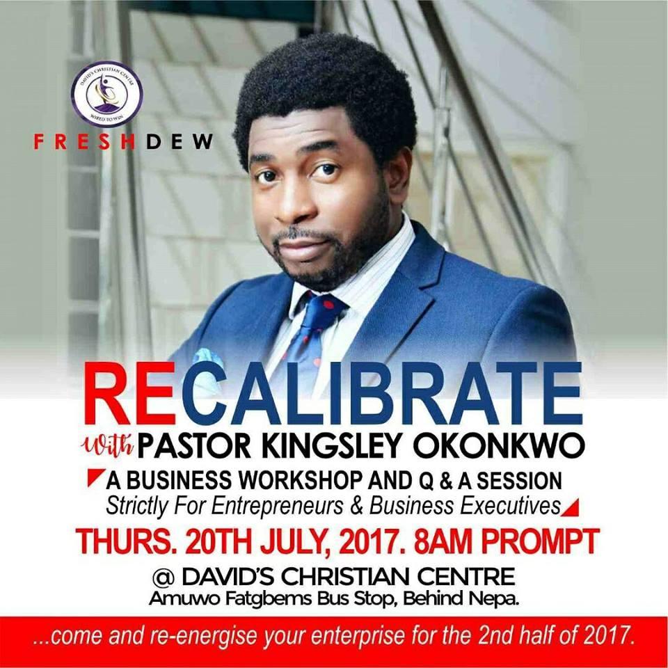 RECALIBRATE With Pastor Kingsley Okonkwo