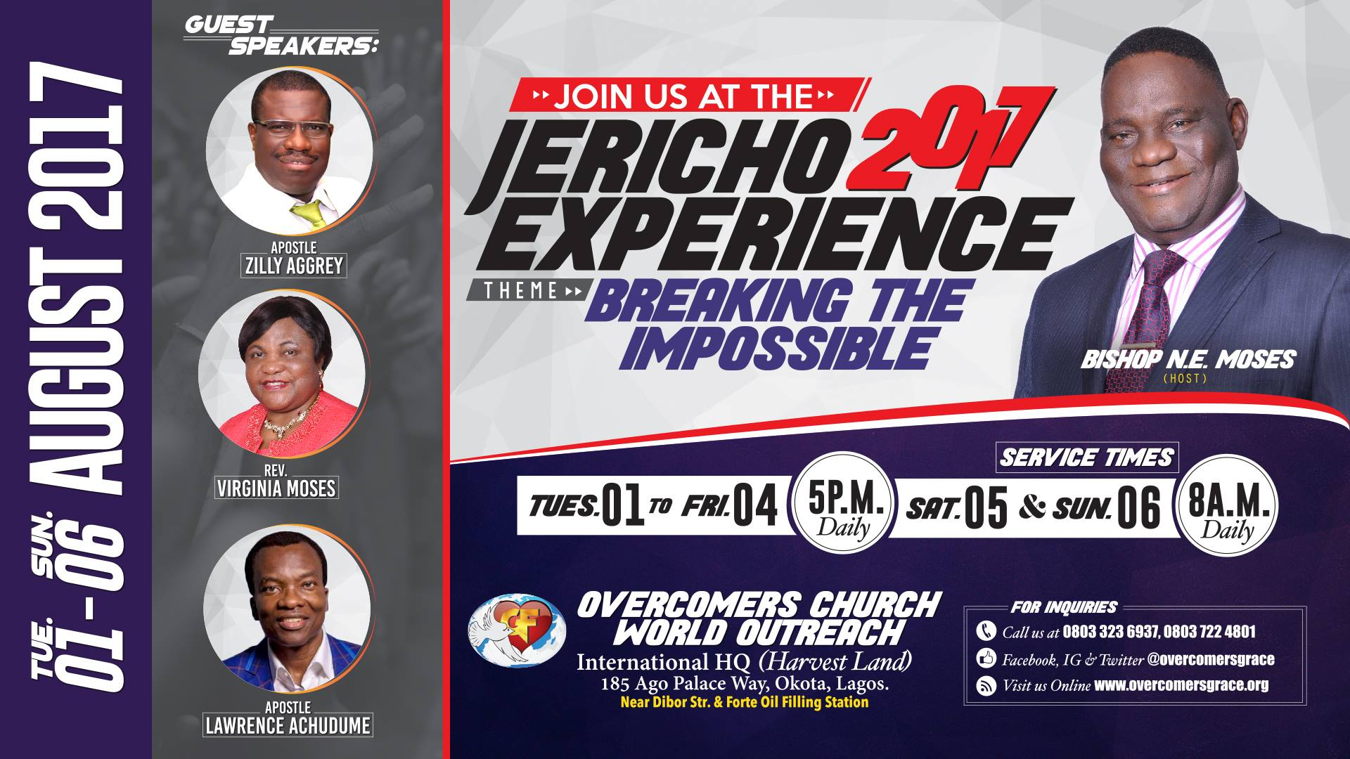 Jericho Experience 2017: Breaking the Impossible