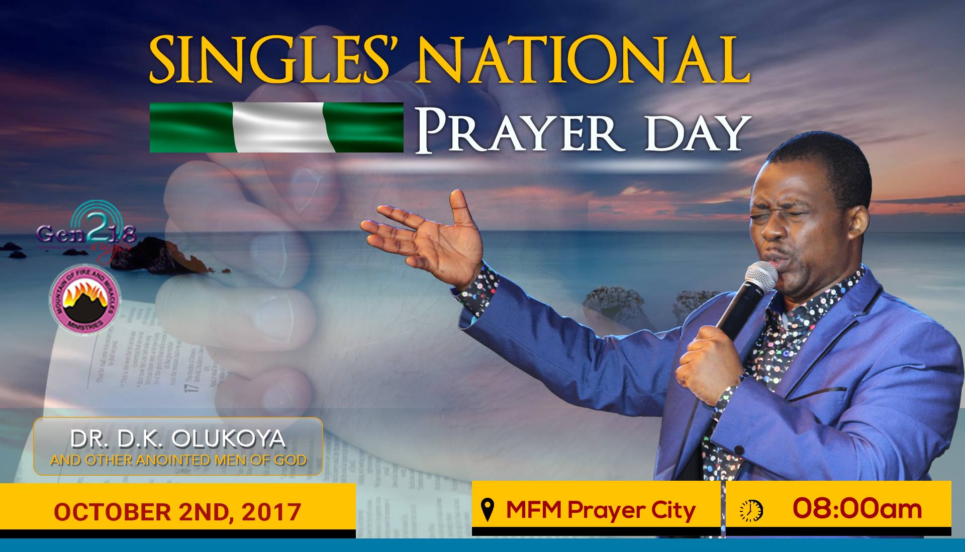 MOUNTAIN OF FIRE AND MIRACLES PRAYER CITY