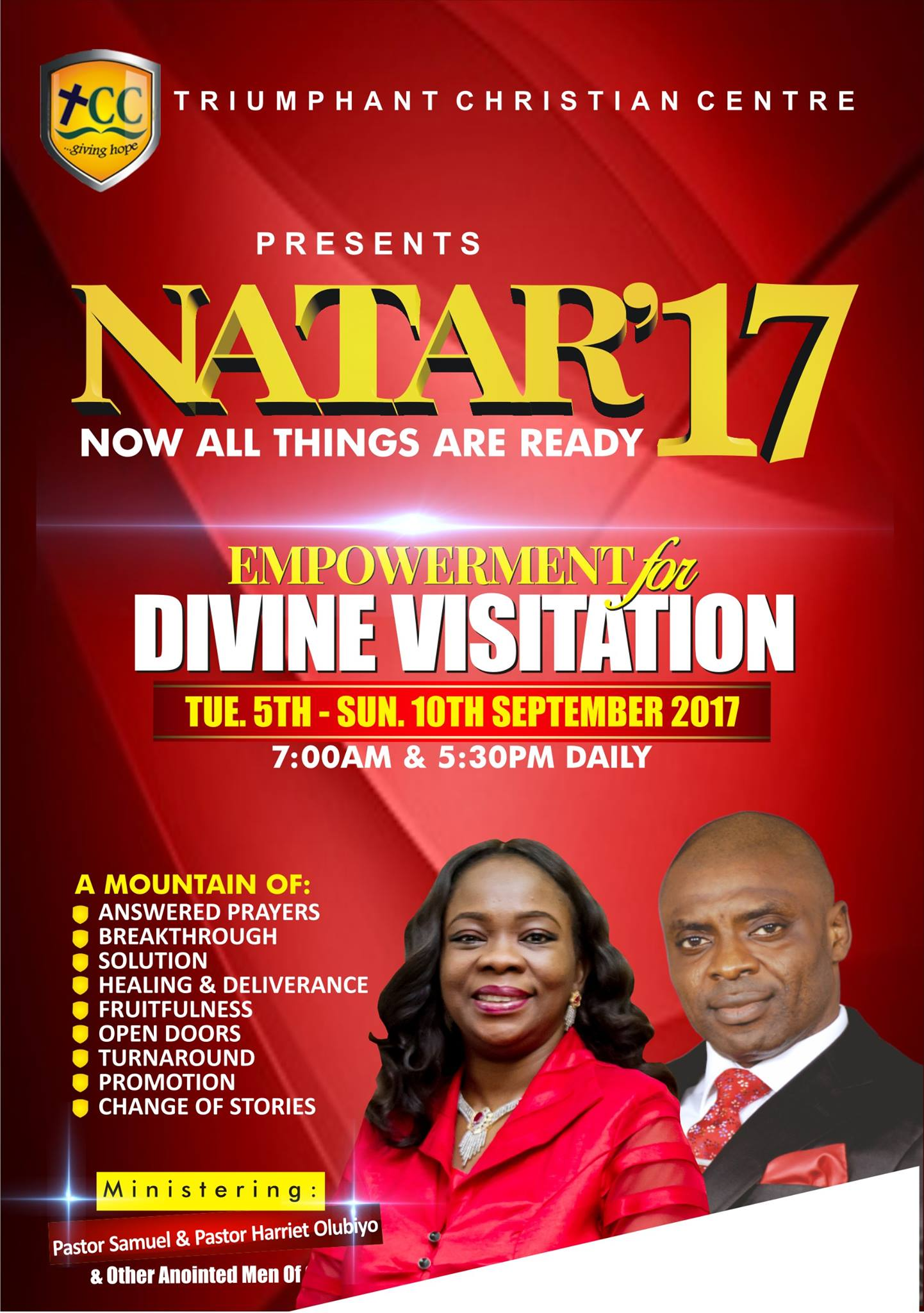 NATAR 17 - Now All Things Are Ready