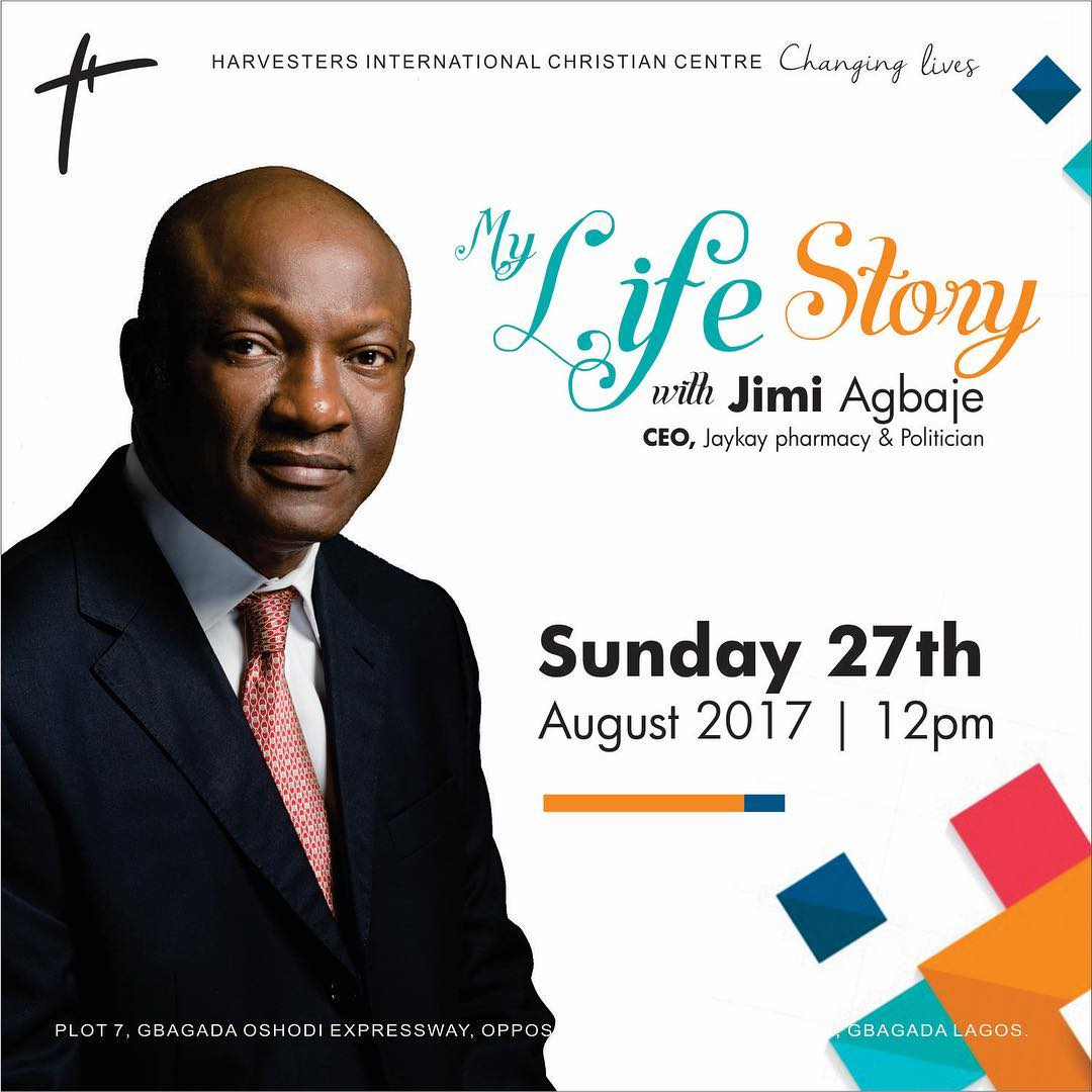 MY LIFE STORY WITH JIMI AGBAJE