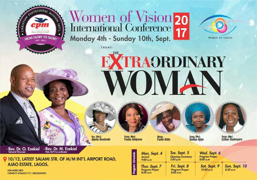 WOMEN OF VISION INTERNATIONAL CONFERENCE 2017
