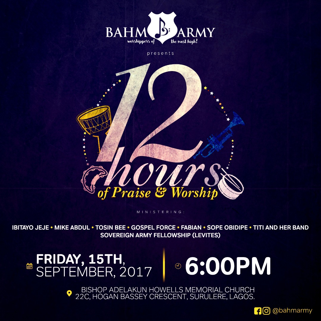12 HOURS Of Worship