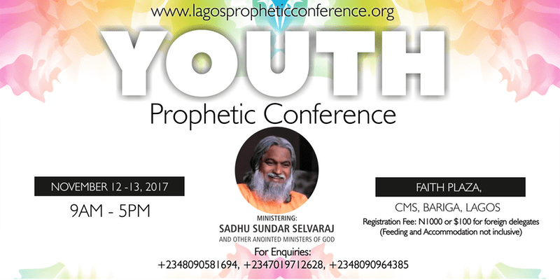 YOUTH PROPHETIC CONFERENCE