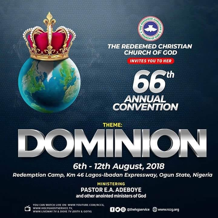 THE REDEEMED CHRISTIAN CHURCH OF GOD 66TH ANNUAL CONVENTION