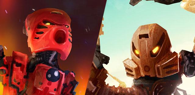 Stunning Bionicle Illustrations