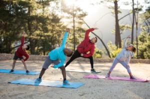 family yoga camping 350x232