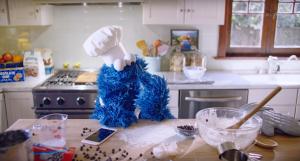 Cookie Monster Selling iPhones