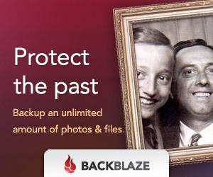 BackBlaze: Protect The Past