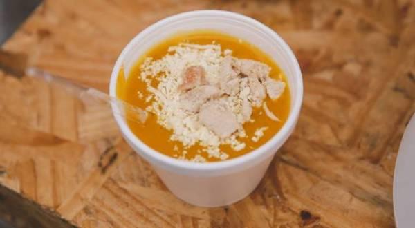 Sopa de abóbora com quejo - Rafael Guirro