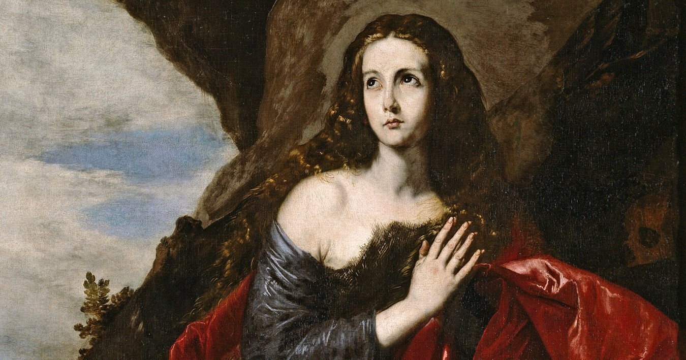 Mary Magdalene (1641) by José de Ribera