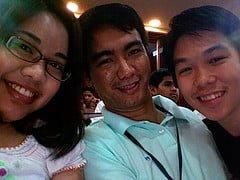 Mhay, Ederic and Josh at iblog 4