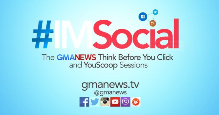 #IMSocial: The Think Before You Click and Youscoop Sessions